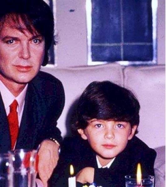 Camilo Sesto y su hijo