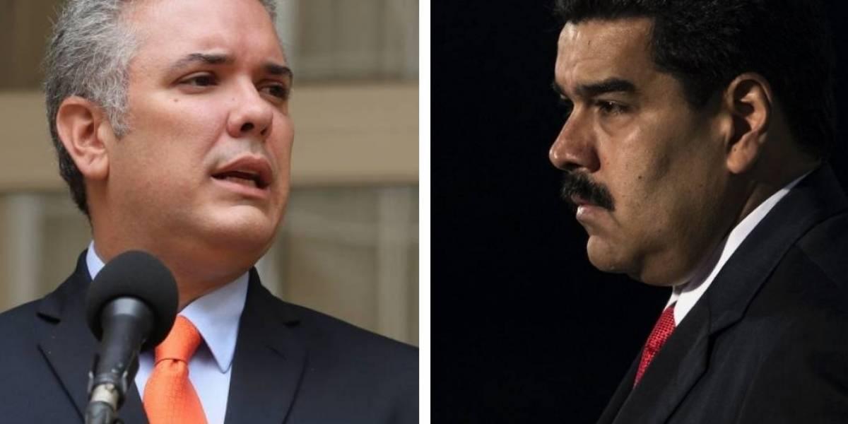 Maduro advierte a colombianos por macabro plan que tendrían Duque y Uribe