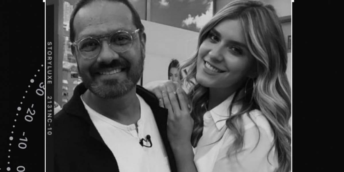Mensaje de Laura Tobón revela estado de salud de Santiago Rodríguez en 'La vuelta al mundo en 80 risas'