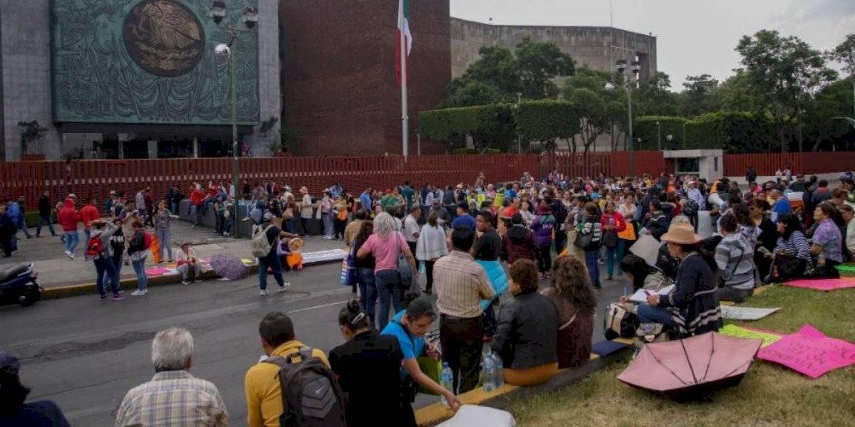 #PolíticaConfidencial ni Segob ni SEP condenan sitio de la CNTE a San Lázaro