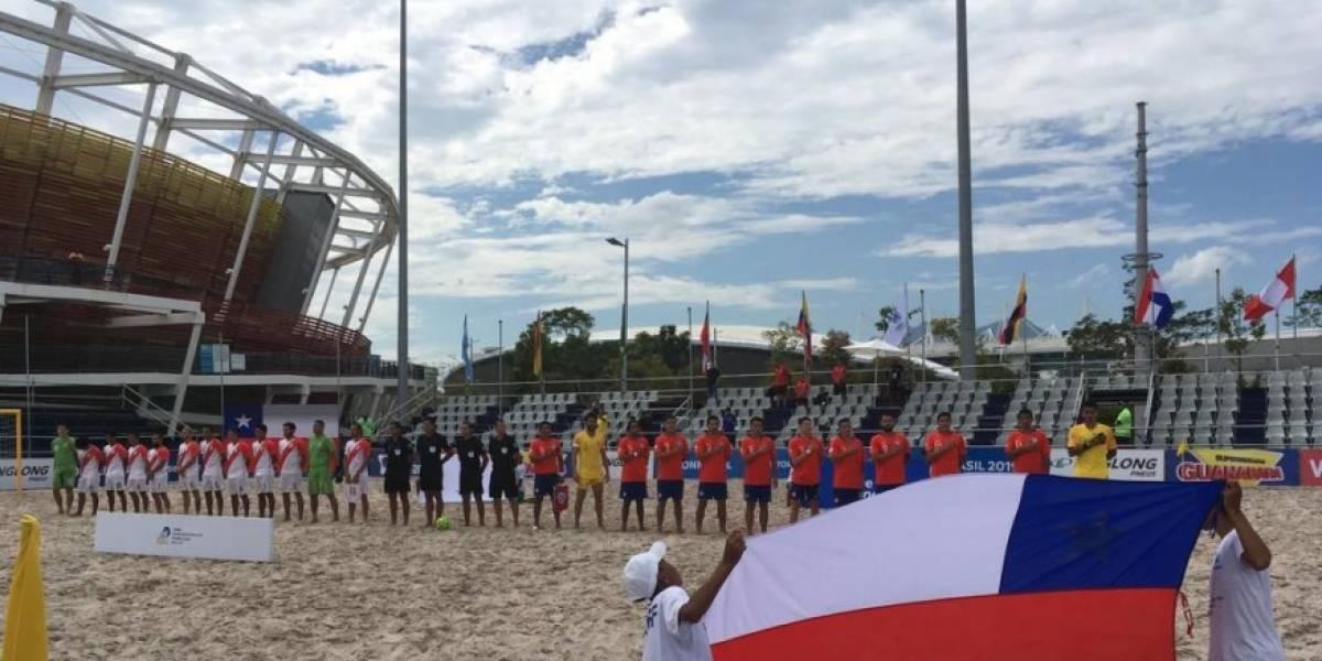 Chile es candidato para organizar el Mundial de Fútbol Playa