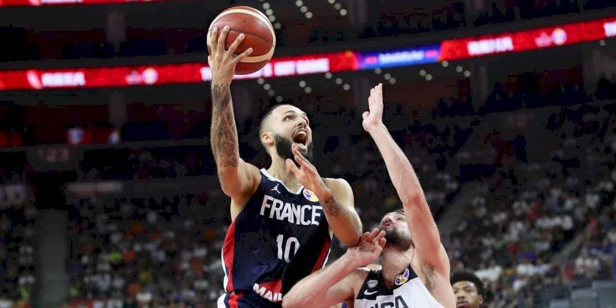 Francia dio el batacazo y eliminó a Estados Unidos del Mundial de Básquetbol