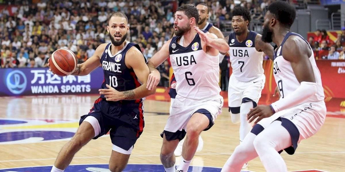 ¡Sorpresa! Francia elimina al campeón EU del Mundial de basquetbol