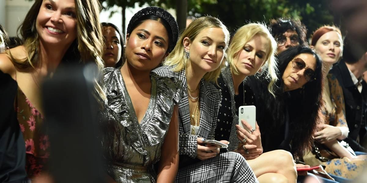 Junto a Nicole Kidman, Yalitza Aparicio deslumbra en el front row de Michael Kors