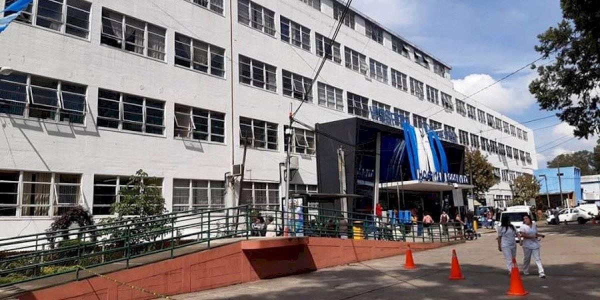 Hospital Roosevelt no recibirá a pacientes que requieran internamiento