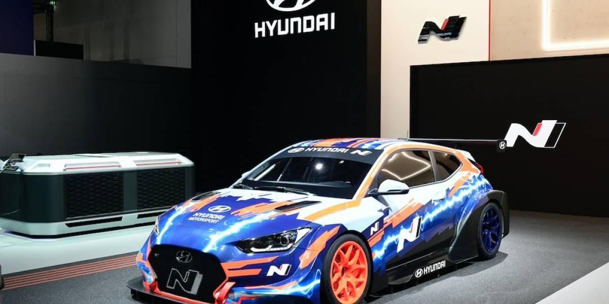 Veloster N ETCT, el primer vehículo de carreras eléctrico de Hyundai