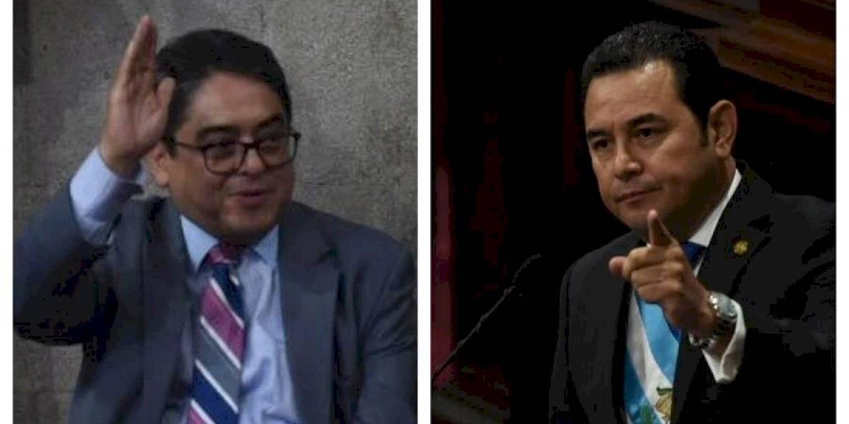 Presidente critica a Rodas y pide apoyo a diputados para solucionar problemas presupuestarios en la PDH
