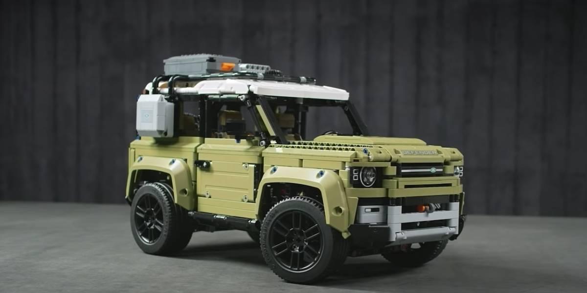 ¿Siempre has querido un Land Rover? Ahora puedes tenerlo en Lego
