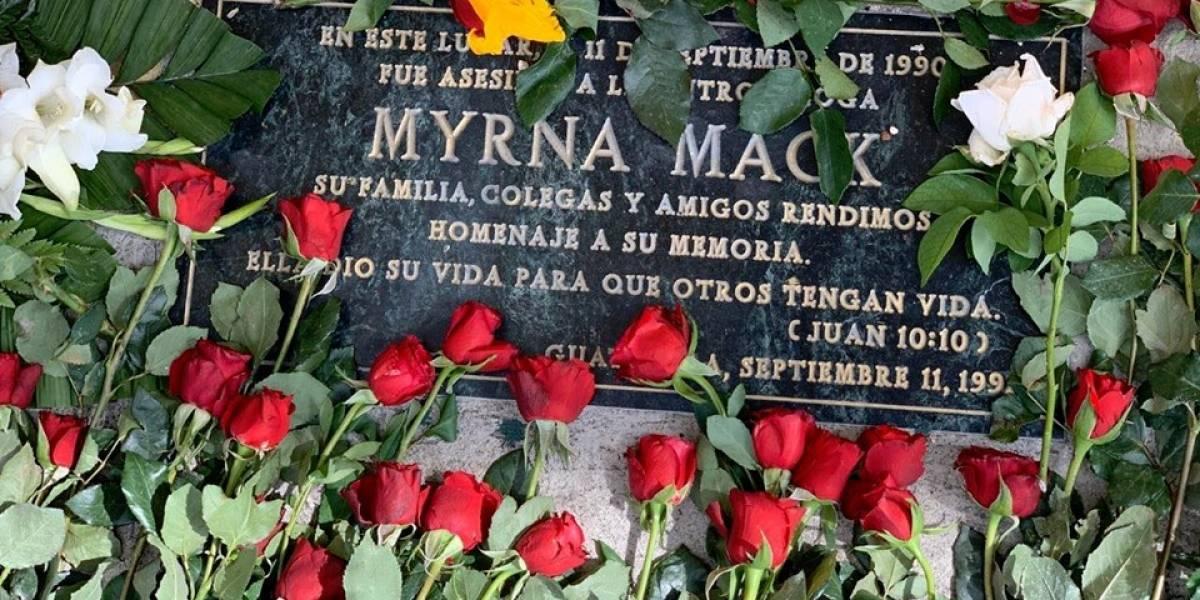 Familiares y amigos recuerdan a la antropóloga Myrna Mack