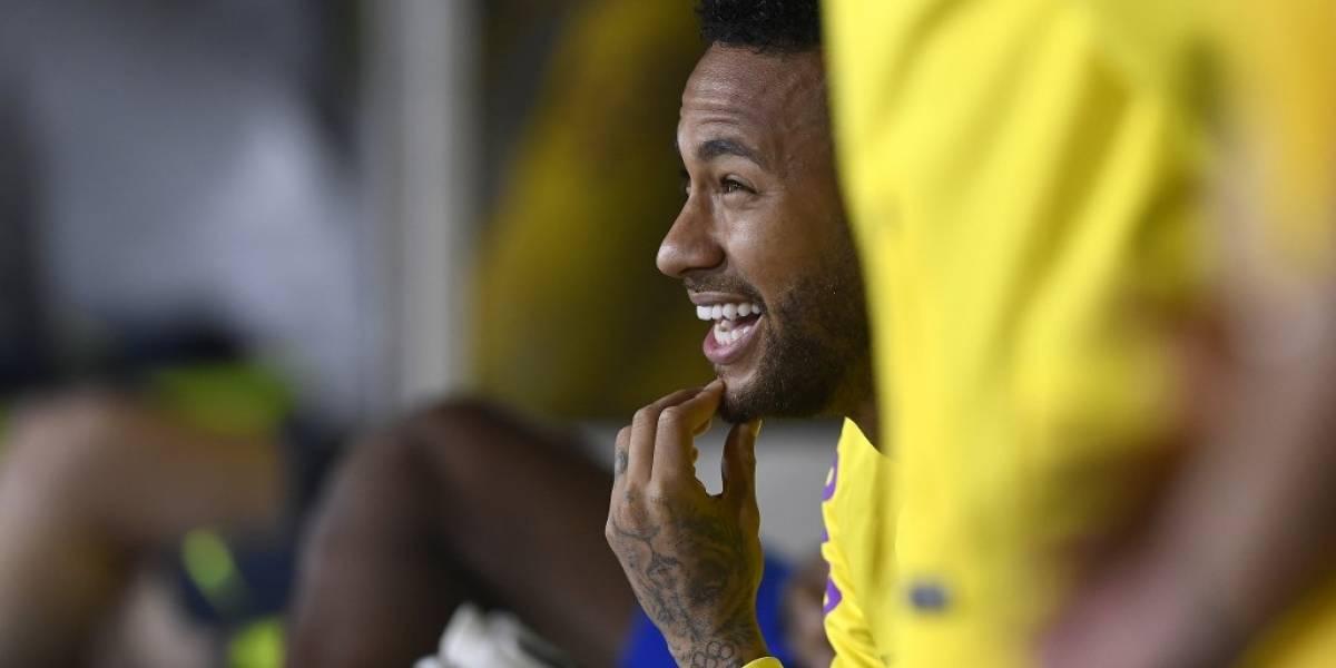 "Perú derrota a Brasil y Neymar hace una ""graciosa"" trampa"
