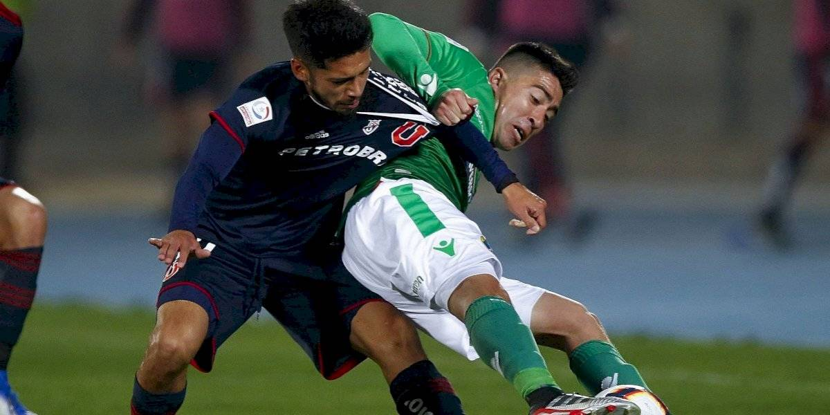 Jimmy Martínez será operado y podrá volver en la U recién para el Superclásico contra Colo Colo