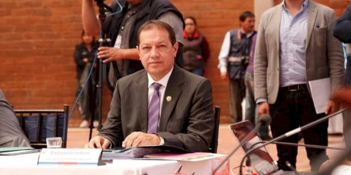 Santiago Guarderas sigue como vicealcalde de Quito