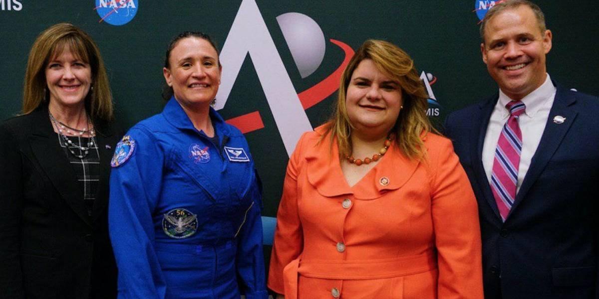 Comisionada Residente promueve programa junto a NASA para enviar a la primera mujer a la Luna