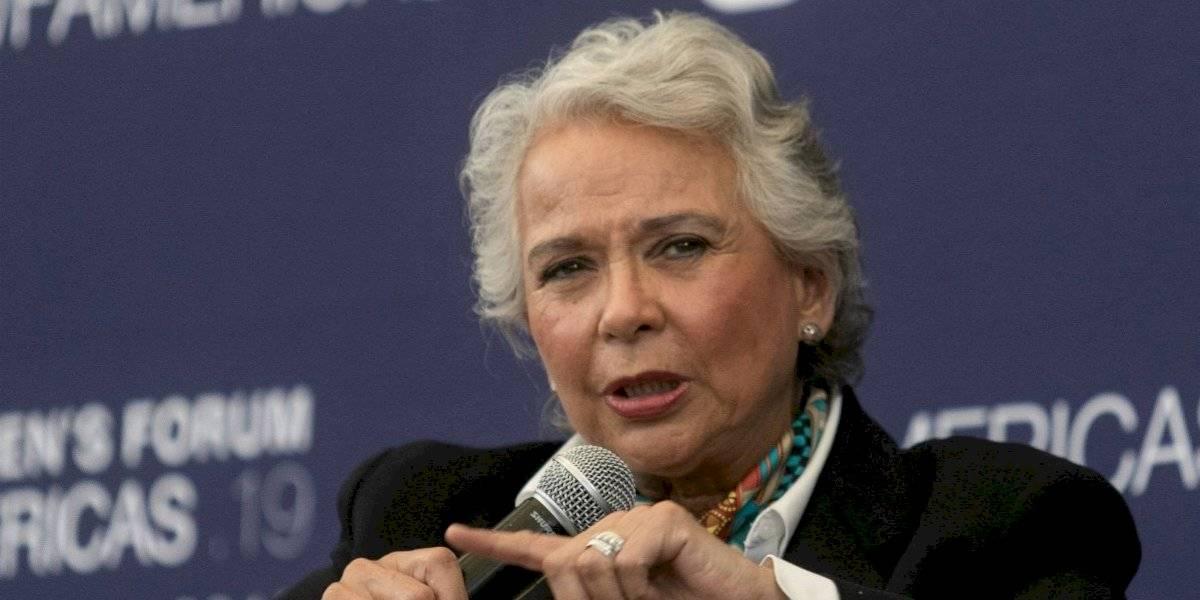 Olga Sánchez Cordero, a favor del aborto y uso de la marihuana