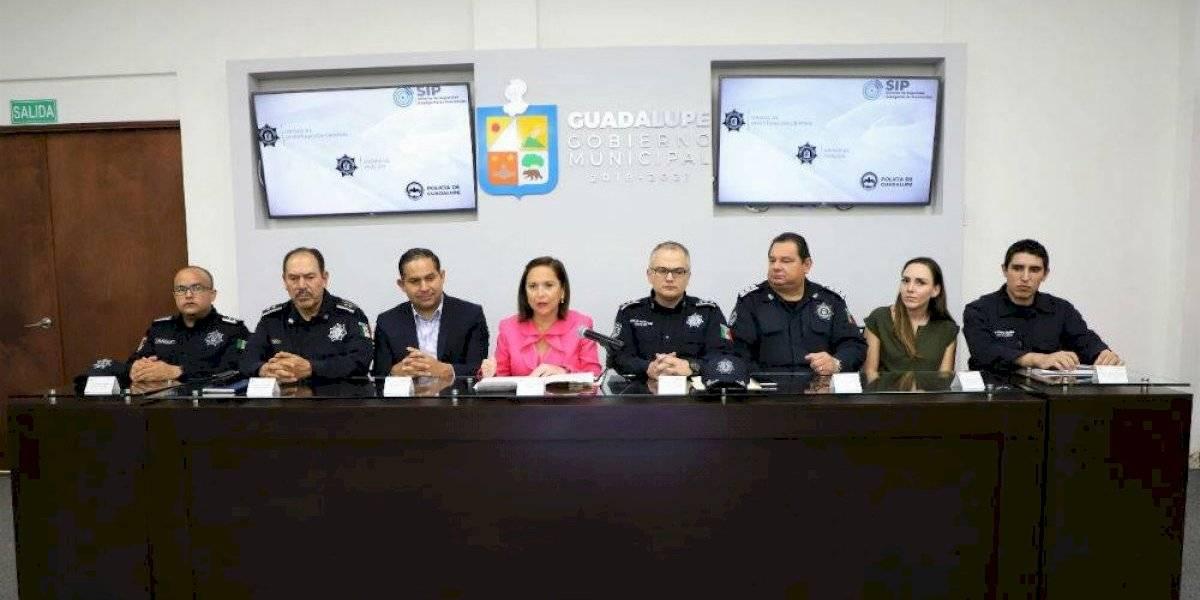Presentan en Guadalupe, Nuevo León, registro biométrico de detenidos