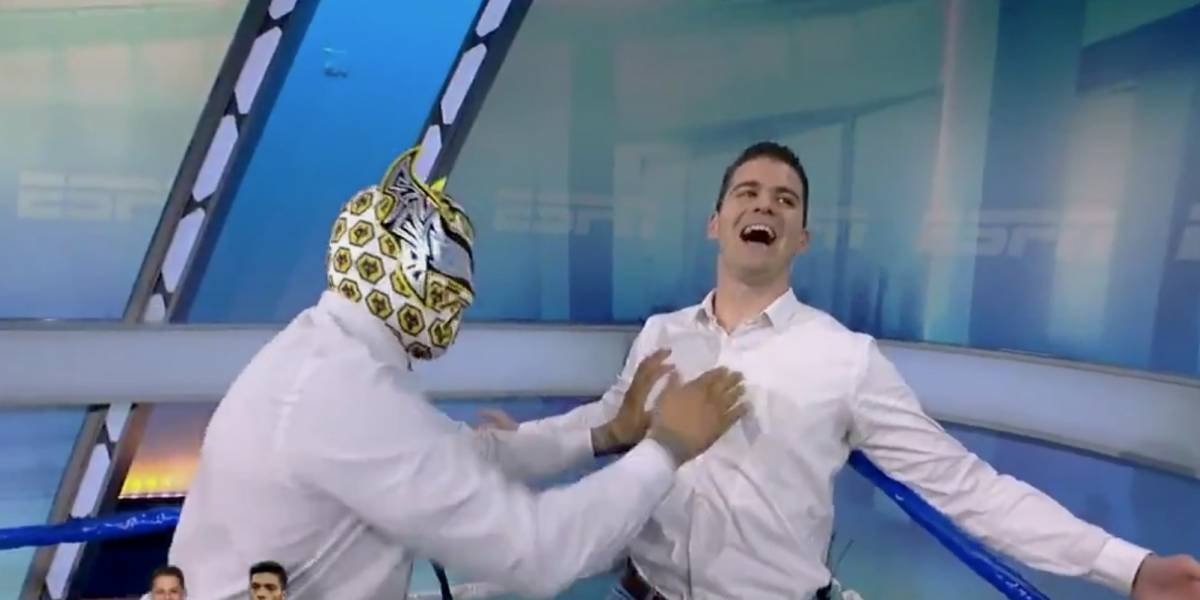 VIDEO: Sin Cara propina brutal golpe a Sergio Dipp