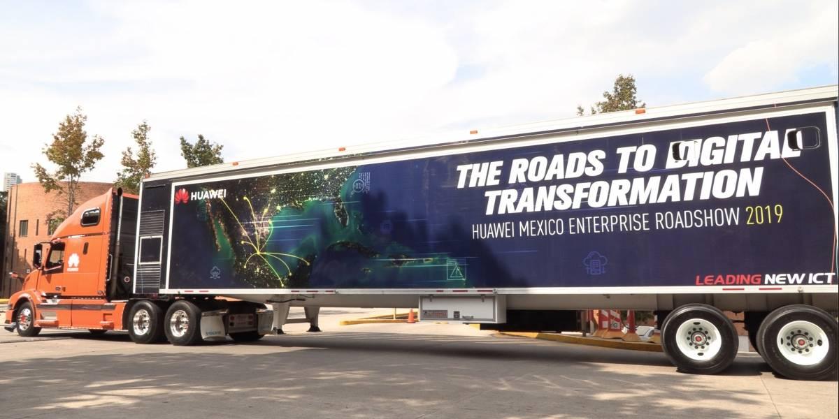 Arranca la gira de Huawei Enterprise Solutions Truck, un centro de solución empresarial