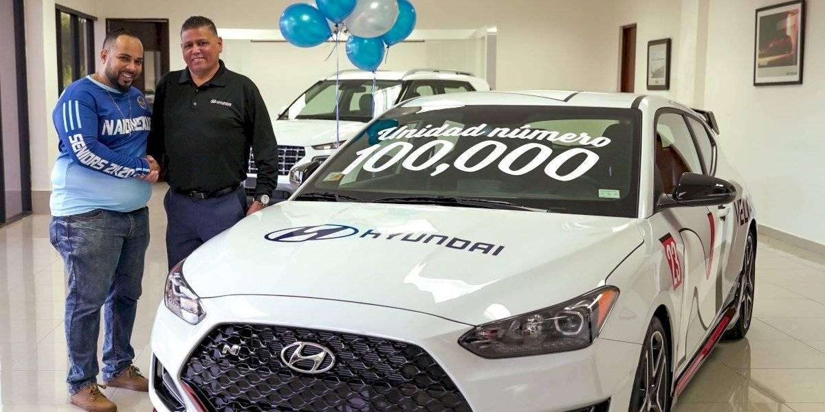 Hyundai llega a las 100,000 unidades vendidas en Puerto Rico