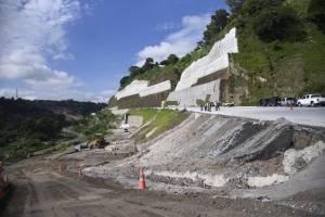 Así avanza la carretera VAS que conectará con la calzada Atanasio Tzul