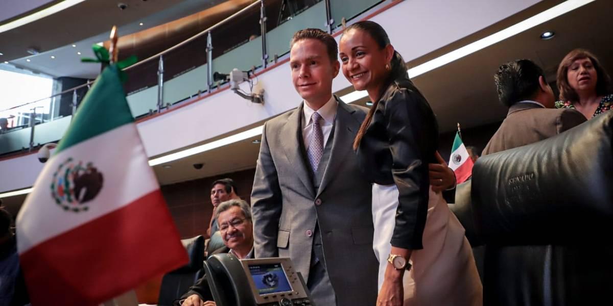 Velasco Coello asume coordinación del PVEM en el Senado
