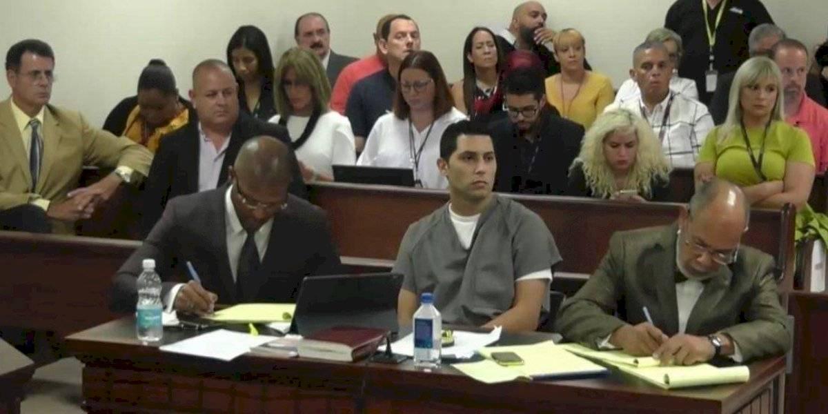 Jensen Medina Cardona renuncia a juicio por jurado