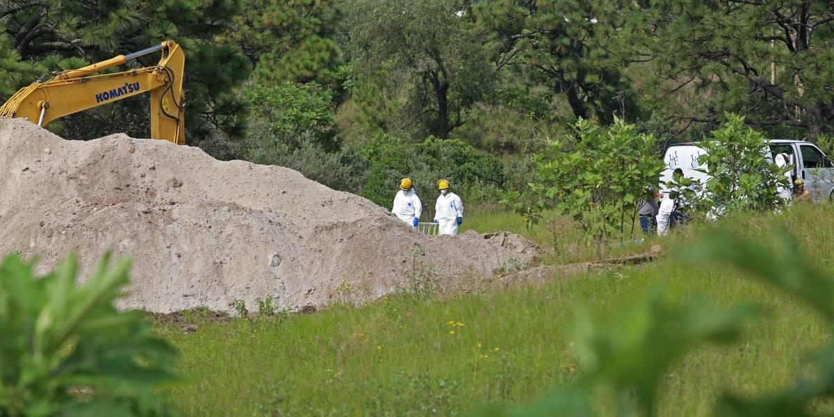 Restos humanos hallados en bolsa revelan hasta el momento el hallazgo de 37 cuerpos