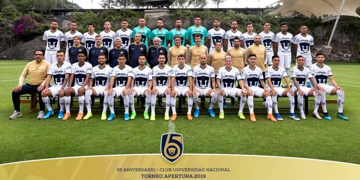 Los Pumas se toman la foto oficial del Apertura 2019