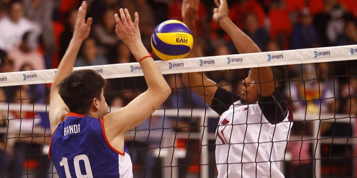Chile dio pelea, pero cayó ante Venezuela y quedó segundo de su grupo en el Sudamericano de Voleibol