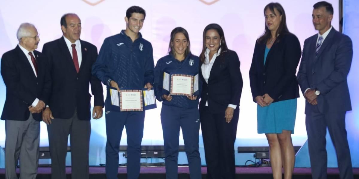 Atletas son reconocidos por su enorme labor en Lima 2019