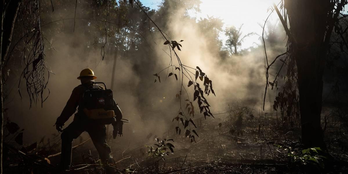 Alerta roja de incendios en cuatro regiones de Colombia