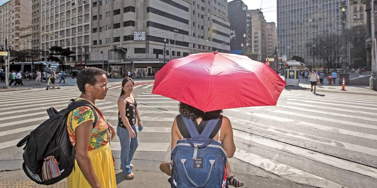 Previsão do Tempo: calor com chuva nesta quinta-feira em São Paulo