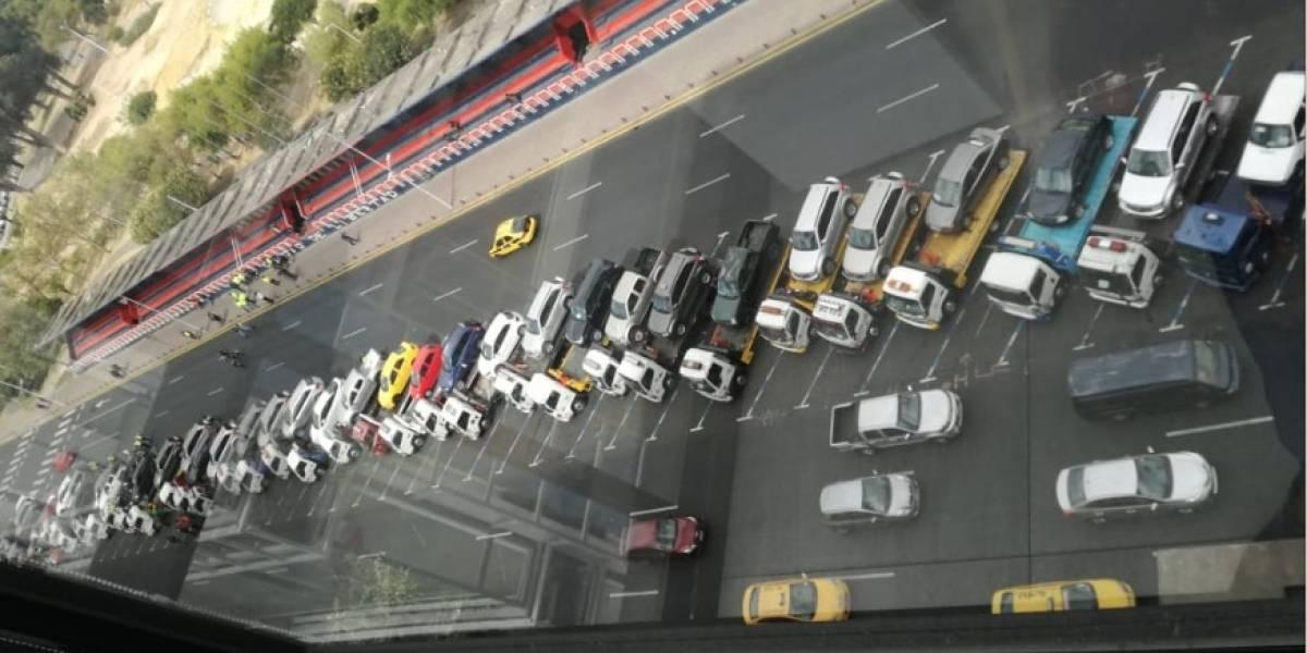 En un día 61 vehículos fueron retenidos por no tener placas, entre ellos 23 estatales