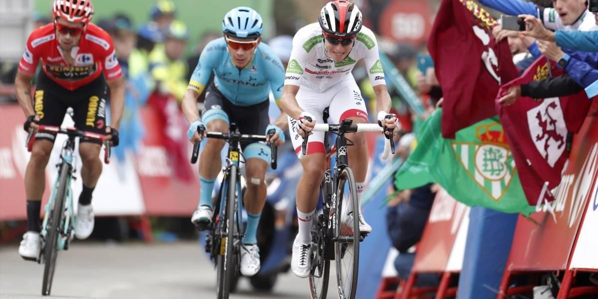 La frustración que Miguel Ángel López causó en uno de los favoritos en La Vuelta