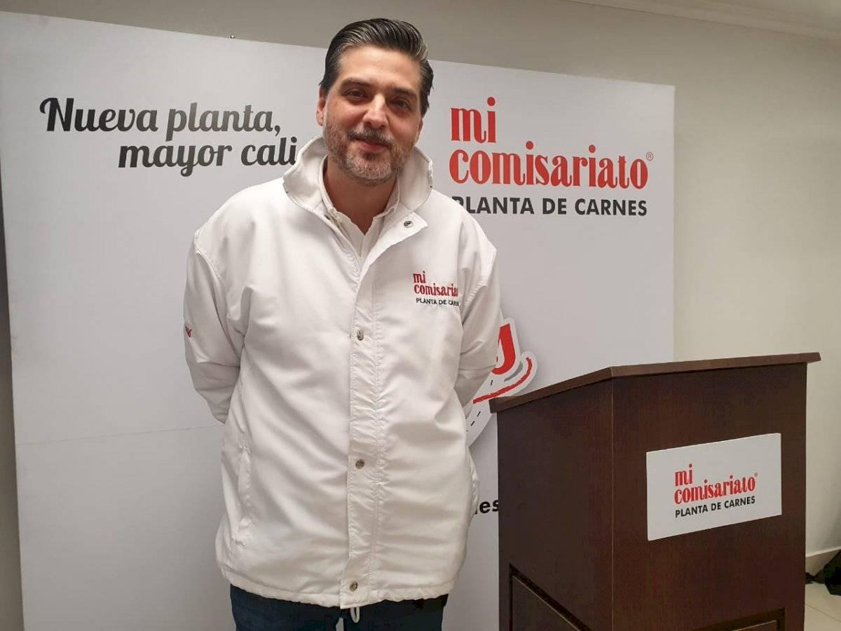 Juan Vélez Crespo, gerente de la Planta