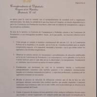 Comisión legislativa insta a postuladoras a realizar proceso público en elección de magistrados