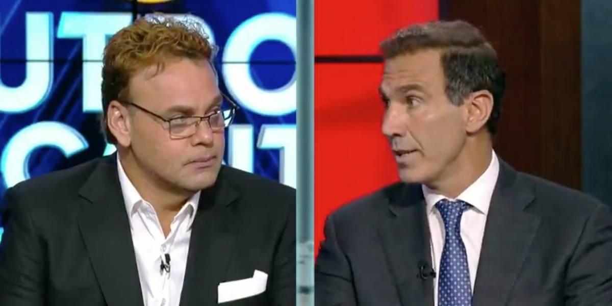 ESPN pide a Faitelson y De Anda disculparse en vivo