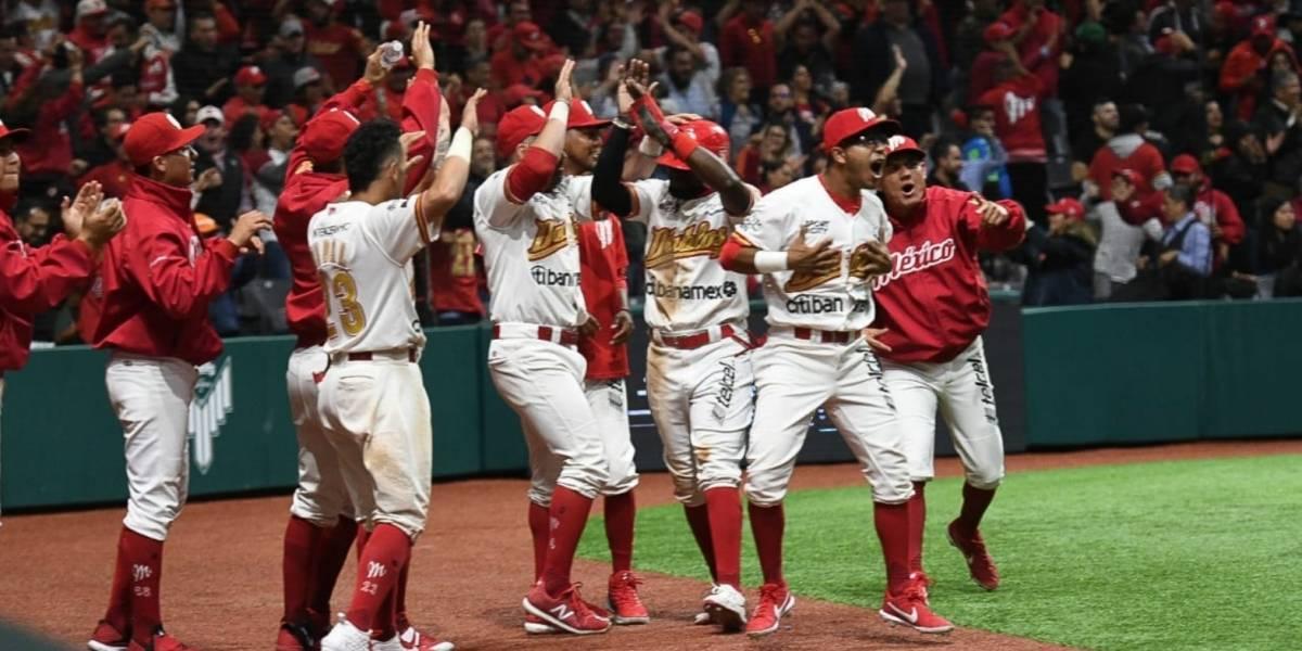 Diablos Rojos elimina a Tigres y es finalista de la Zona Sur