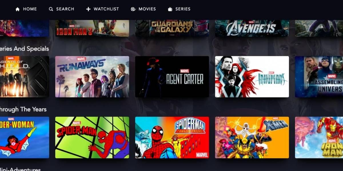 Streaming Disney+ trará animações clássicas e filmes da Marvel no catálogo