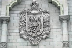 Escudo, palacio nacional