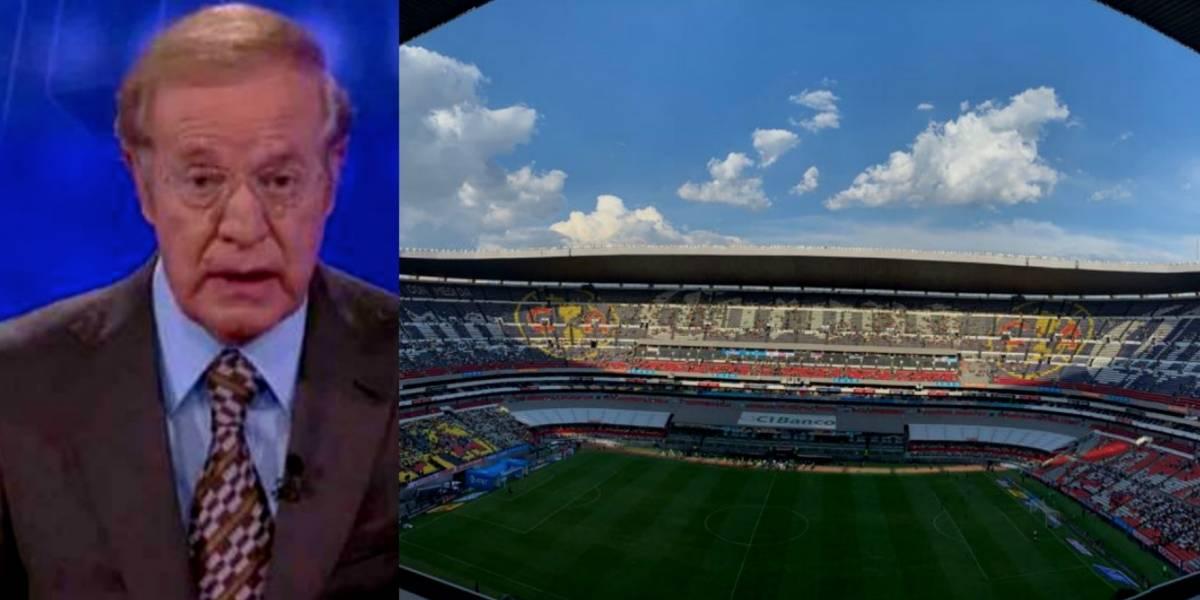 'En ese estadio me sale roña': José Ramón Fernández sobre el Azteca