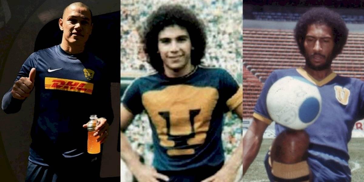 FOTOS: Ellos son los jugadores históricos de Pumas