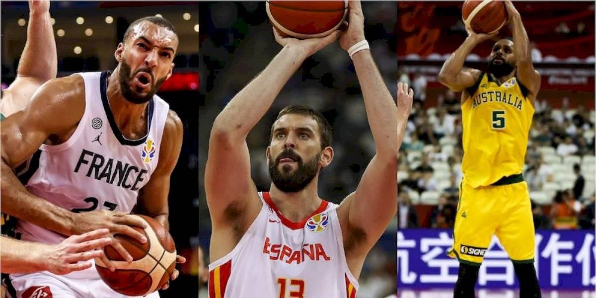 Semis del mundial de basquet llenas de jugadores NBA pese a eliminación de EU