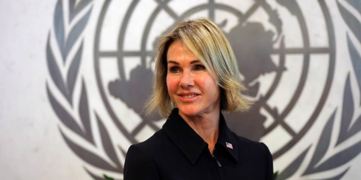Asume nueva embajadora de Estados Unidos ante la ONU