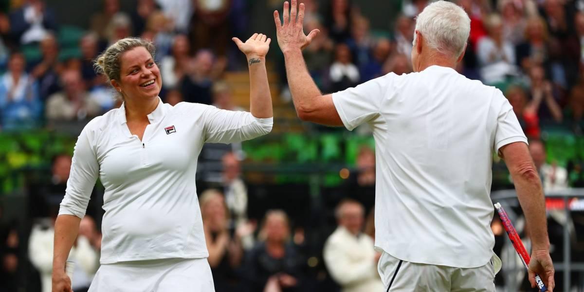 Kim Clijsters vuelve al tenis a los 36 años