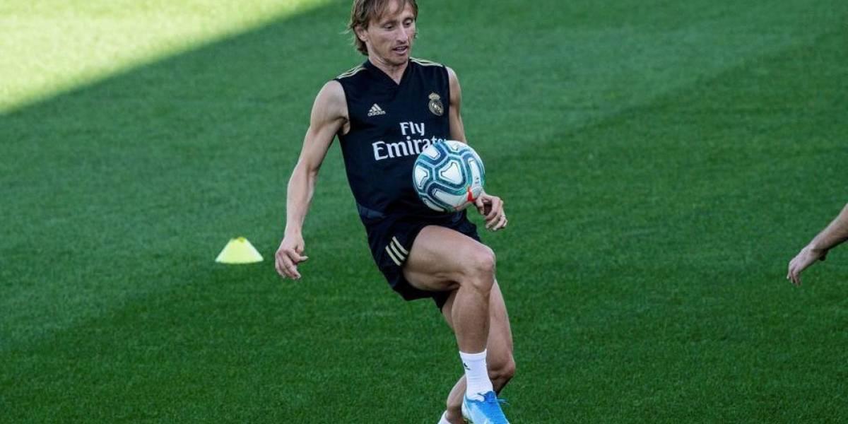 Sigue el hospital en el Real Madrid, Modric nuevo lesionado