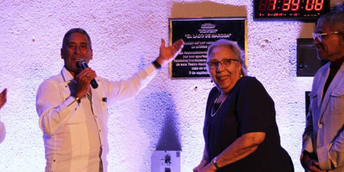 Teatro Nacional reconoce a Marosa Mallorga por sus aportes a la cultura dominicana