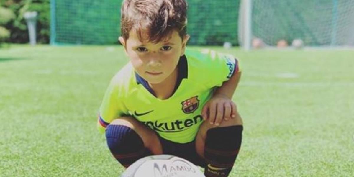 VIDEO. Estos son los mejores momentos de Mateo Messi en cuatro años