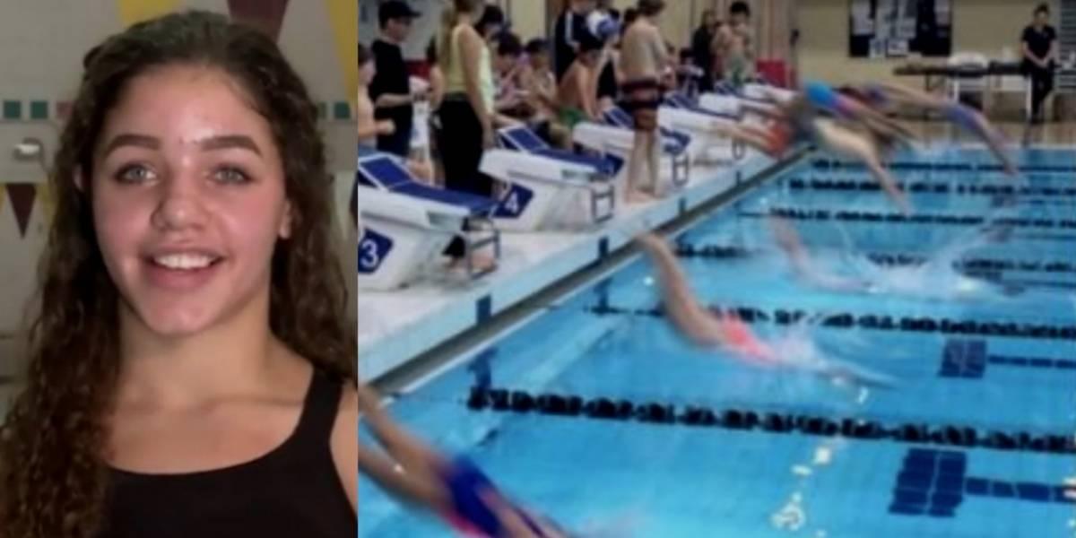 Nadadora es descalificada por 'enseñar de más' con su traje de baño