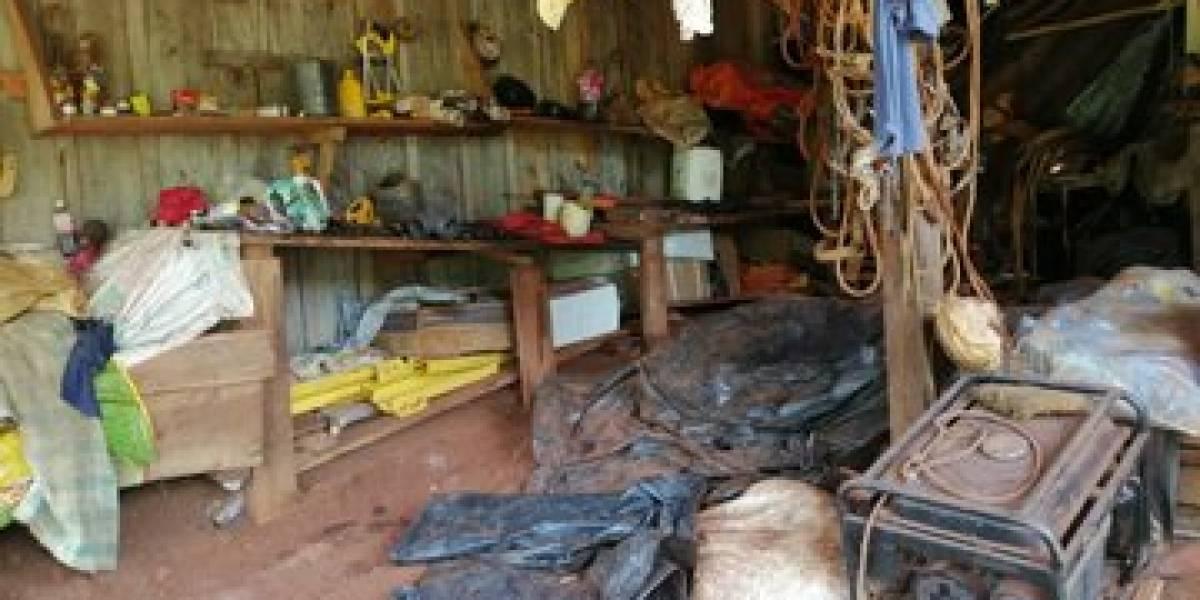 Ejército localiza posible narco laboratorio en Izabal