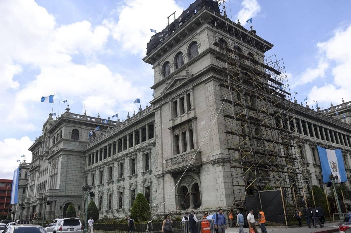 """La reconstrucción de la fachada principal de el """"Guacamolón"""" duró casi nueve meses. Foto: Omar Solís"""
